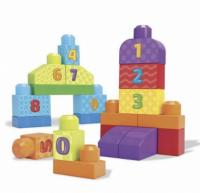 """Սովորում ենք հաշվել  հավաքածու """"Mega Bloks First Builders"""""""