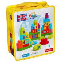 "Այբուբեն ""ABC "" կոնստրոկտոր ""Mega Bloks First Builders """