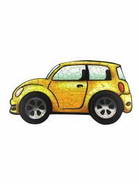 Փայտե սուպեր փազլ՝ մեքենա