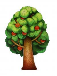 Փայտե սուպեր փազլ՝ ծառ