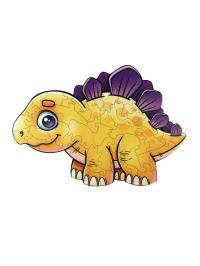 Փայտե սուպեր փազլ՝ դինոզավր