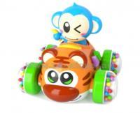 Կապիկ մեքենայով լուսային և ձայնային էֆֆեկտներով