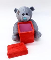 Փափուկ խաղալիք արջուկ տուփով