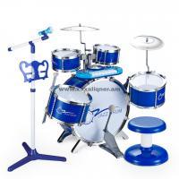 Երաժշտական հարվածային գործիքների հավաքածու բարձրախոսով և աթոռիկով 7