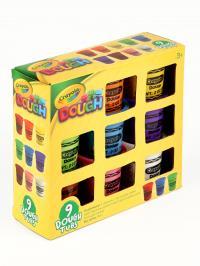 Ծեփախմորների հավաքածու 9 գույն Crayola