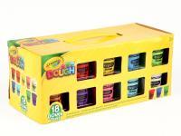 Ծեփախմորների հավաքածու 18 հատ (9 գույն) Crayola