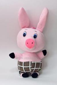 Փափուկ խաղալիք խոզուկ