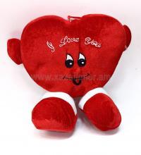 Փափուկ խաղալիք սիրտ