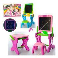 Մանկական գրատախտակ սեղան 2-ը 1-ում աթոռիկով