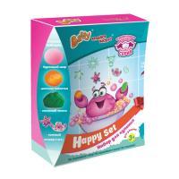 Լոգանքի Հավաքածու Happy Set Gelli Baff վարդագույն